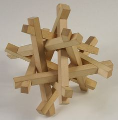 I like puzzles like these because they're relatively easy to make but tough to solve (I'd guess anyway) and visually interesting.