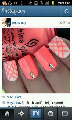 Love the nail design