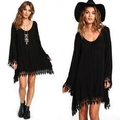 >> Click to Buy << Autumn Women Dress Female Sexy Dresses Long Sleeve Femininas O-neck Vestidos Lady Above Knee Vestido Women Solid Plus Size Dress #Affiliate