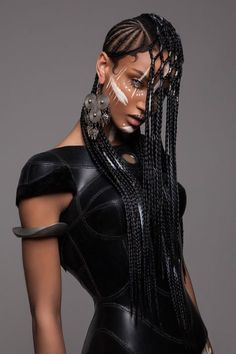 [Pics] These Stunning Futuristic and African-Inspired Hairstyles Won the British Hair Awards