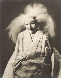 Japanese Puppets Bunraku | Woman Puppet (Bunraku Puppet Theater)  Photography by Taikichi Irie, 1930s, Japan