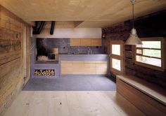 200-year-old alpine hut near Gstaad, Switzerland renovated by AFGH