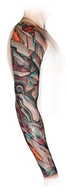 Robot concept #Lux Altera #tattoo