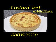 Custard tart is definitely one of my family favorite dessert. One tart is never enough!😋 This recipe is made without blind baking, so it take a . Custard Tart, Homemade, Make It Yourself, Baking, Breakfast, Sweet, Desserts, Recipes, Food