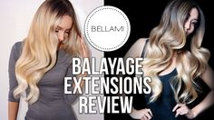 Bellami Balayage Guy Tang Extensions Review! By Desi Perkins