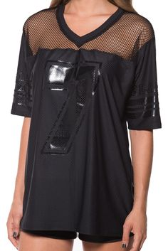 Mesh Touchdown (WW $110AUD / US $105USD) by Black Milk Clothing