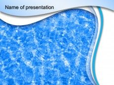 Water effect powerpoint template presentation