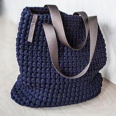 Everyday Tote Bag/ Crochet Shoulder Bag/ Everyday Woman's   Etsy