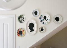silhouette plate gallery + giveaway via here-lately.com