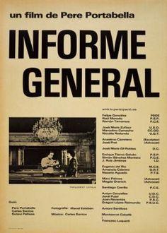 Informe general de Pere Portabella (1977). Miércoles 8 de Mayo de 2013. Cine Doré - Filmoteca Española