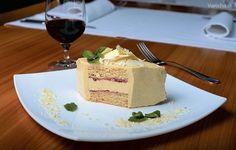 Torta s anglickým maslovým krémom