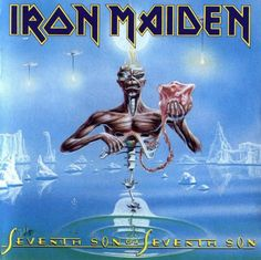 Carátulas de música Frontal de Iron Maiden - Seventh Son Of A Seventh Son. Portada cover Frontal de Iron Maiden - Seventh Son Of A Seventh Son Albums Iron Maiden, Iron Maiden Album Covers, Iron Maiden Cd, Eddie Iron Maiden, Iron Maiden Seventh Son, Seventh Sun, Rock And Roll, Eddie The Head, Greatest Album Covers