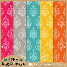 Free commercial use digital papers, overlays, kits etc    DBS DigiScraps