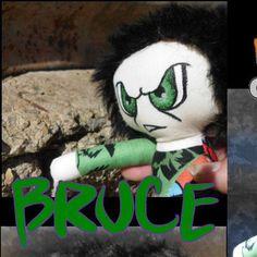 #ladybird2turtle #pinadayoct #tweenboy $40.00 Handmade Mini Misfit Incredible Hulk Boy Doll by misfitsandvagabonds on Handmade Australia