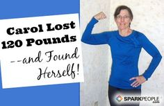 A Health Scare Motivated Carol to Change Her Life! | via @SparkPeople #diet #fitness #success #weight
