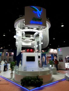Emarat Exhibition Stand   Dubai #exhibit #tradeshow