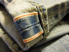 Selvage Jean
