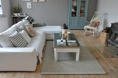 Taking Notes. Stories about a big old house in the country. - Home - New rugs in thehouse | Wall colour