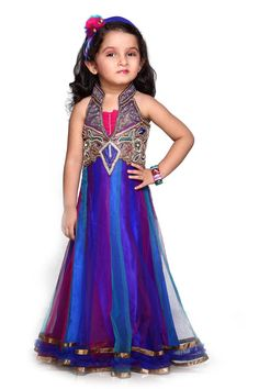 Baby dress pattern indian 40 new Ideas Lehenga Choli Designs, Baby Girl Dress Patterns, Baby Girl Dresses, Baby Dress, Baby Outfits, Kids Party Wear Dresses, Choli Dress, Kids Gown, Royal Blue Dresses