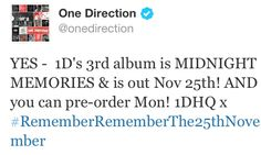 is anyone excited for #MidnightMemories? Comment your fave Midnight Memories! x PINTEREST ALL NIGHT WHADDDUP