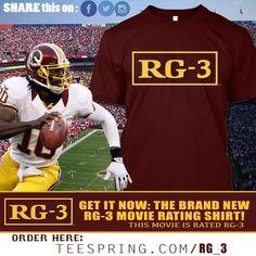 RG3 Movie T Shirt (RG3TeeShirt) on Twitter