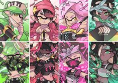See more 'Splatoon' images on Know Your Meme! Splatoon Memes, Nintendo Splatoon, Splatoon 2 Art, Splatoon Comics, Draw Minecraft, Skins Minecraft, Marina Splatoon, Splatoon Squid Sisters, Pearl And Marina