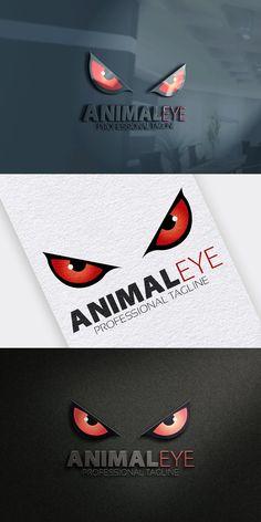 Eye Logo, Monster Design, Presentation, Eyes, Animals, Color, Animales, Animaux, Colour