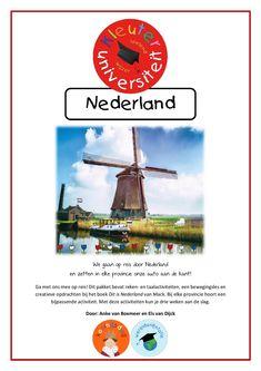 Nederland   Kleuteruniversiteit Small World, Amsterdam, Dutch, Classroom, Van, School, Windmills, Kids, Scrabble