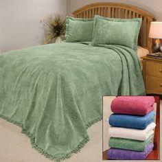 Chenille Bedspreads - Bedroom Basics - Home - Walter Drake