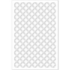 Acurio Latticeworks Morrish Circle 32 in. x 4 ft. White Vinyl Decorative Screen Panel - - The Home Depot Vinyl Panels, Pvc Panels, Privacy Panels, Fence Panels, Door Panels, Home Depot, Indoor Dog Gates, Decorative Screen Panels, Outdoor Wall Art