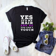 Ladies' T-shirt Natural hair, black girls rock, melanin poppin, black girl magic,black lives matter, black girls rock, black pride, african