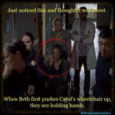 #twd #TeamFamily #BethGreene #CarolPeletier