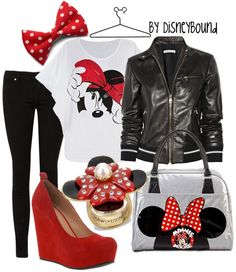 Minnie Mouse. Everything except the shoes