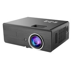 MG500 LED Mini Portable 2300Lumens Full HD Projector 800 x 480 Native Resolution With Remote Control Sale - Banggood.com
