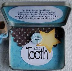 Make a tooth fairy box