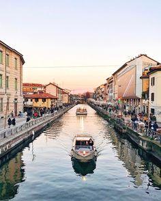 Naviglio Grande, Milan [Italy]