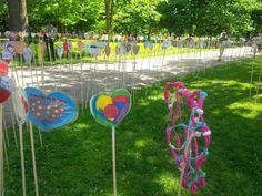 KAIROS heart garden in Ottawa