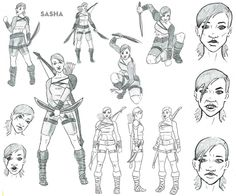 Character Design by Logan Currin, 2012 Media Design, Student Work, School Design, Logan, Foundation, Character Design, Creativity, Animation, Digital