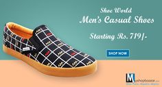 Check out Branded #Casual #Shoes for Men's at best prices on Myshopbazzar.com