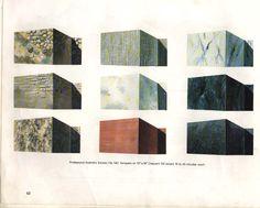 Diễn họa cây cối, vật liệu bằng màu nước và marker. Vật liệu bao gồm: gạch, đá, nước, kiếng, ...