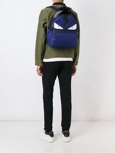 Buy fendi backpack monster eyes bag bug at online store