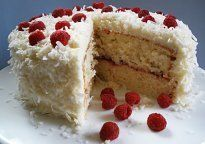 Raspberry and Coconut Cake - Recipe - The Answer is Cake