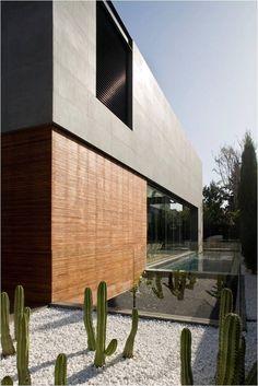 Jardines Habitacionales-  Diseño de Jarín Desértico. -house 3, herzelia pituah