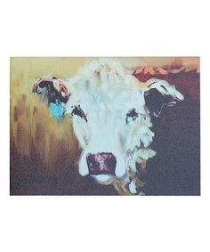 Cow Pictures Wall Decor Farmhouse Decor For The Home 6 Sizes Professional Arty Print of a Dairy Cow Calf Original Watercolor Painting| Playroom Decor Cow Paintings Cow Print by Whitehouse Art