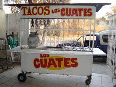 Carrito Remolque Puesto para Tacos