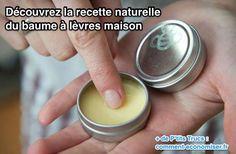 baume lèvre naturel maison recette