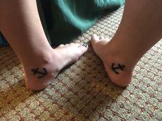 Sister anchor tattoos ⚓️