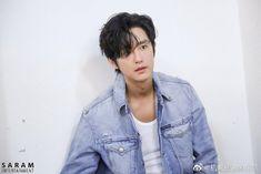Kwon Yul, Korean Actors, Lovers, Denim, Jackets, Fashion, Down Jackets, Moda, Fashion Styles