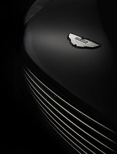 Aston Martin Logo And Grill