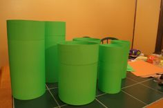 Mario Party Green Pipes DIY